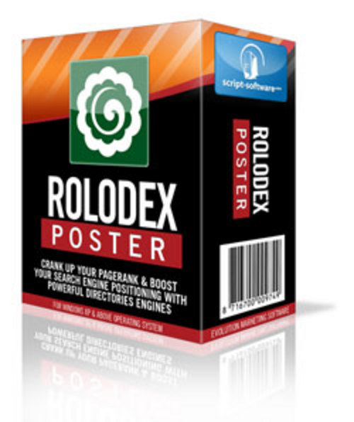 Product picture Rolodex Poster
