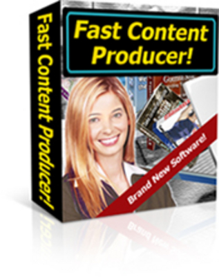 Product picture Fast Content Producer
